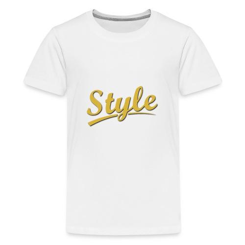 Step in style merchandise - Kids' Premium T-Shirt