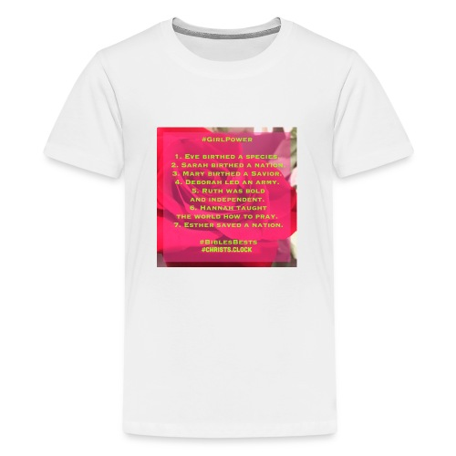 Girl Power Too! - Kids' Premium T-Shirt