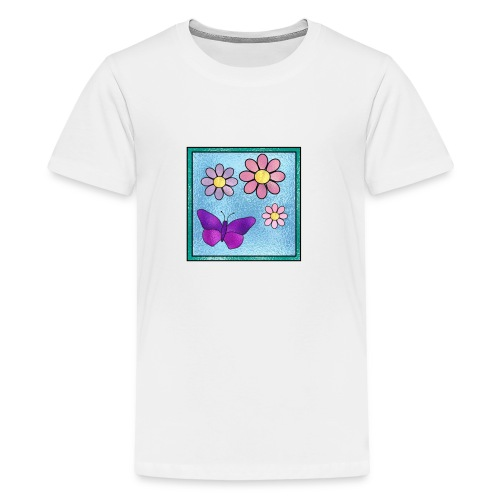 Stained Butterfly 1 - Kids' Premium T-Shirt