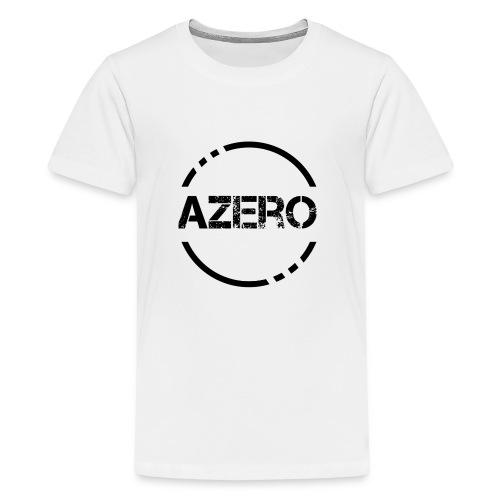 Azero logo black - Kids' Premium T-Shirt