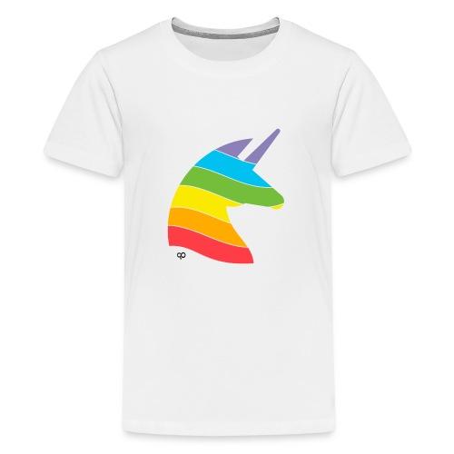 Rainbow Unicorn - Kids' Premium T-Shirt