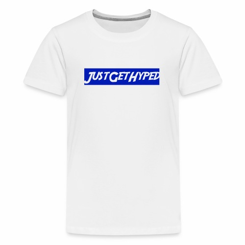 JustGetHyped Supreme Type - Kids' Premium T-Shirt