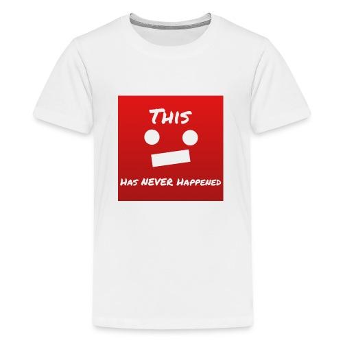 Little YouTube Face - Kids' Premium T-Shirt