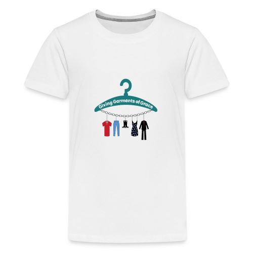Giving Garments of Grace - Kids' Premium T-Shirt
