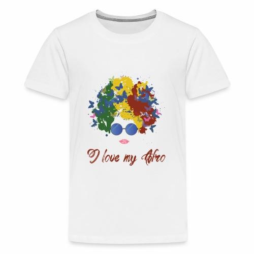 new afro - Kids' Premium T-Shirt