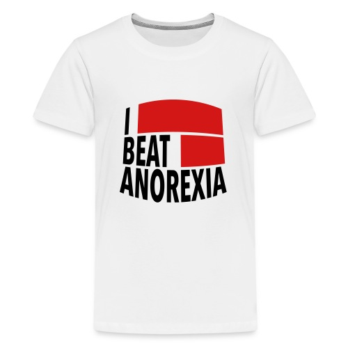 I Beat Anorexia - Kids' Premium T-Shirt