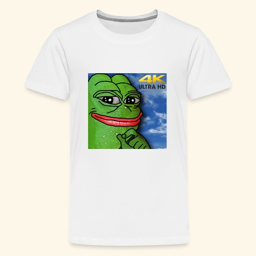 HD MEME FROG - Kids' Premium T-Shirt