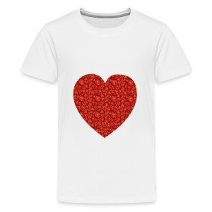 With All My Hart - Kids' Premium T-Shirt