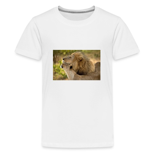 lions in love - Kids' Premium T-Shirt