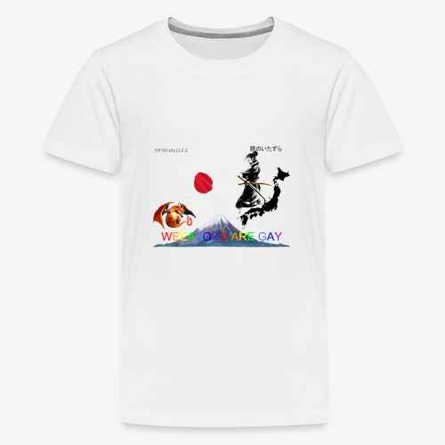 WEEABOOS ARE GAY - Kids' Premium T-Shirt