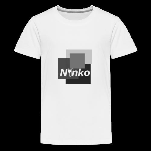 Ninko Black and White - Kids' Premium T-Shirt