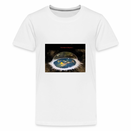 Flat Earth Dome - Kids' Premium T-Shirt