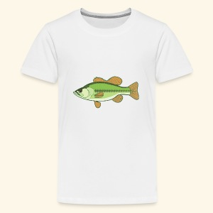 Fishking logo design - Kids' Premium T-Shirt