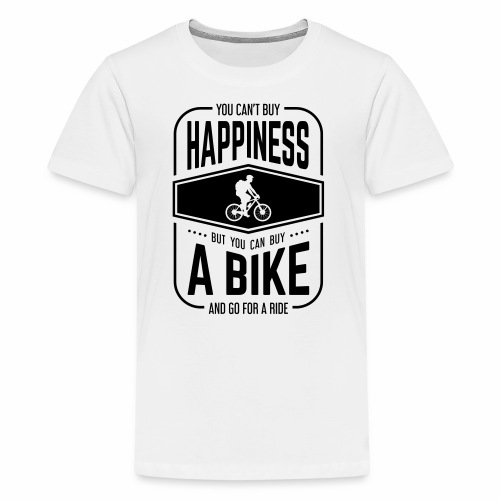 You can't buy happiness but you can buy a bike - Kids' Premium T-Shirt