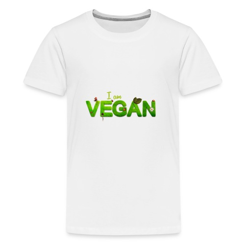 I am Vegan - Kids' Premium T-Shirt