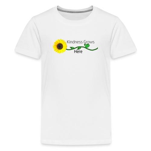 Kindness Grows Here Tshirt - Kids' Premium T-Shirt