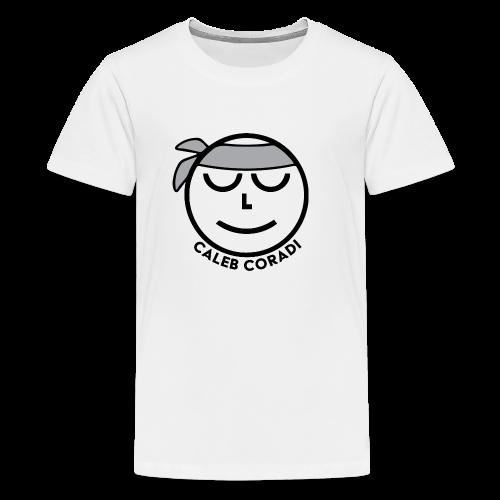 Caleb Coradi Ninja Logo - Kids' Premium T-Shirt
