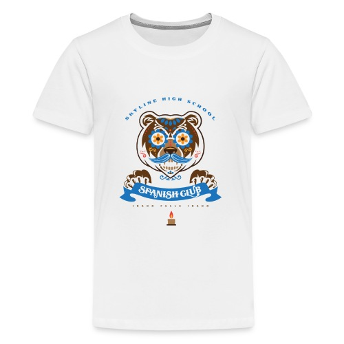 Grizz Day of the Dead - Kids' Premium T-Shirt