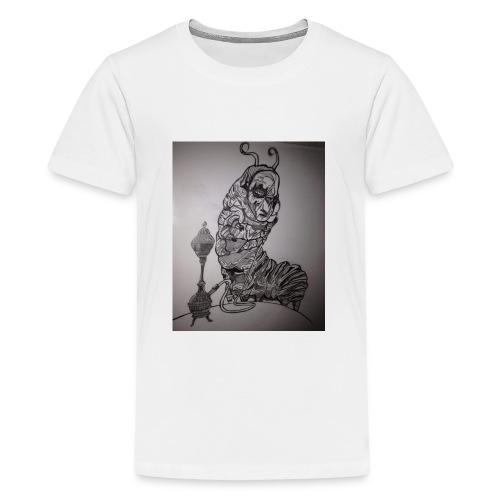 Black caterpillar - Kids' Premium T-Shirt
