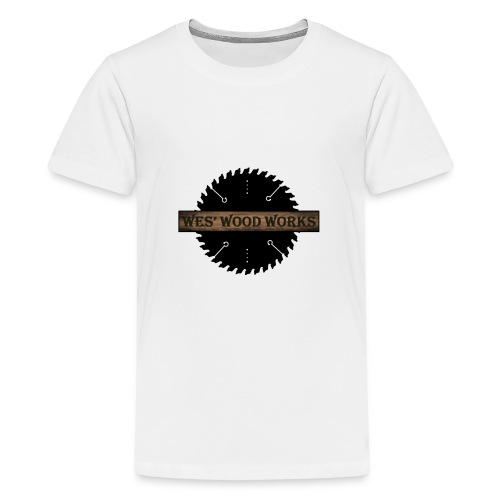 Wes' Wood Works - Kids' Premium T-Shirt