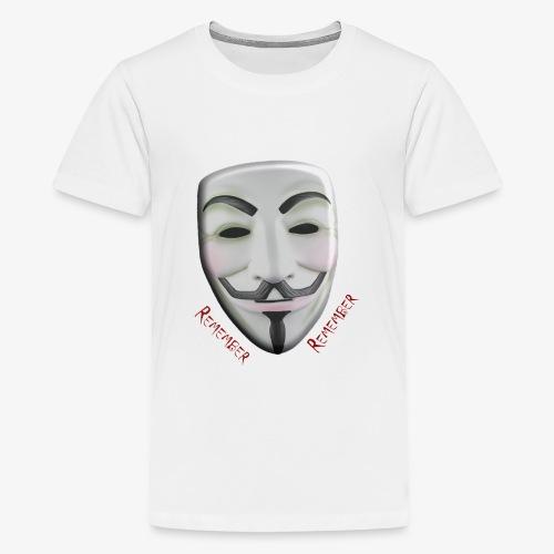 Guy Fawkes - Kids' Premium T-Shirt