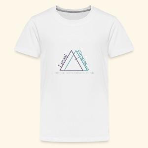 Level Fitness with Logo - Kids' Premium T-Shirt