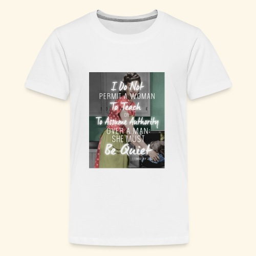 Timothy 2:12 - Kids' Premium T-Shirt