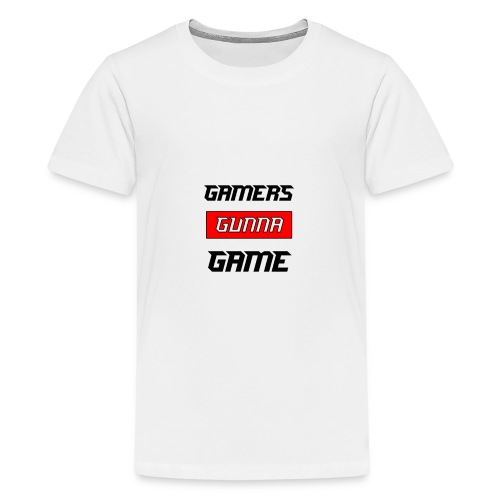 Gamers Gunna Game - Kids' Premium T-Shirt
