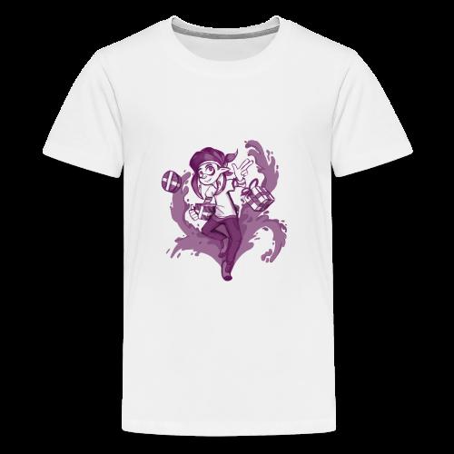 Splatoon Christmas inkling - Kids' Premium T-Shirt