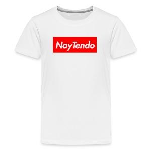Supreme Logo - NayTendo - Kids' Premium T-Shirt
