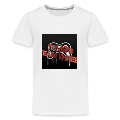 tommms team three merch - Kids' Premium T-Shirt