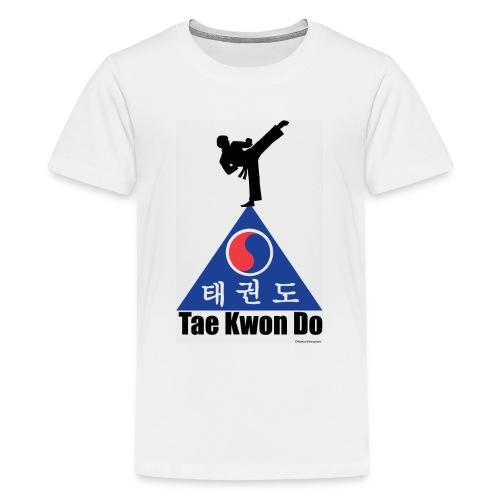 Taekwondo Pyramid - Kids' Premium T-Shirt