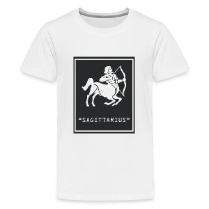 Sagittarius Zodiac Symbol - Kids' Premium T-Shirt