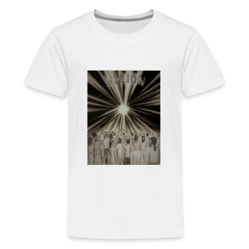 Black_and_White_Vision2 - Kids' Premium T-Shirt