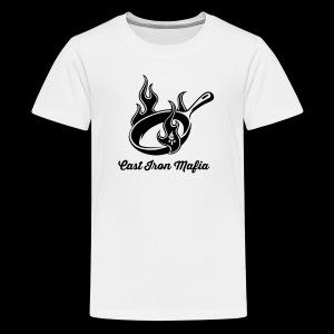 Cast Iron Mafia Skillet - Kids' Premium T-Shirt