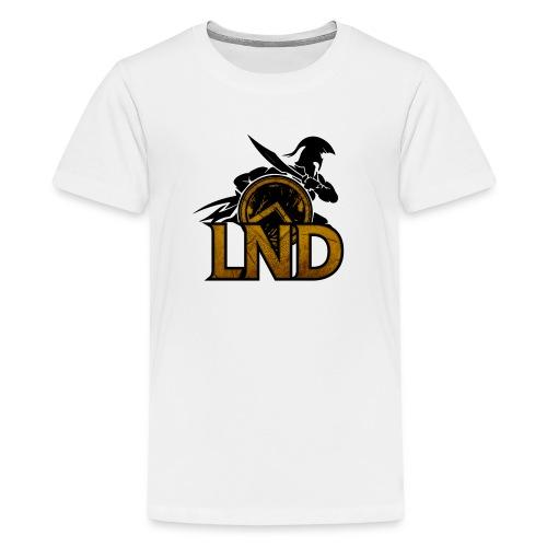 LND Logo Design - Kids' Premium T-Shirt