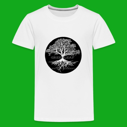 Greenleaf Wear Black logo - Kids' Premium T-Shirt
