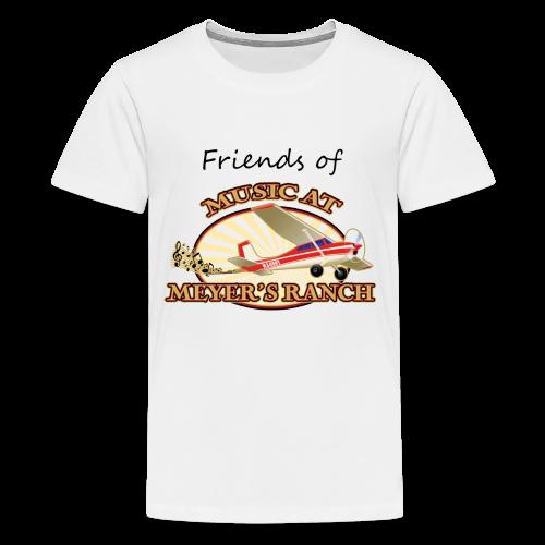 Friends of Music At Meyer's Ranch - Kids' Premium T-Shirt