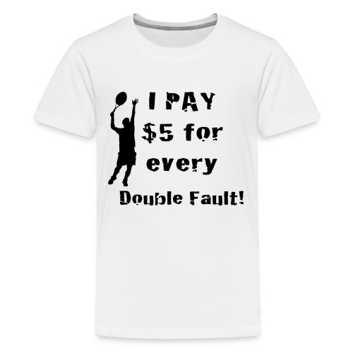 Tennis Double Fault - Kids' Premium T-Shirt
