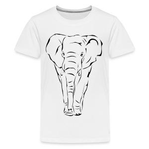 The Noble Elephant - Kids' Premium T-Shirt