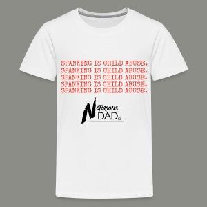 Say 'No' to spanking. - Kids' Premium T-Shirt