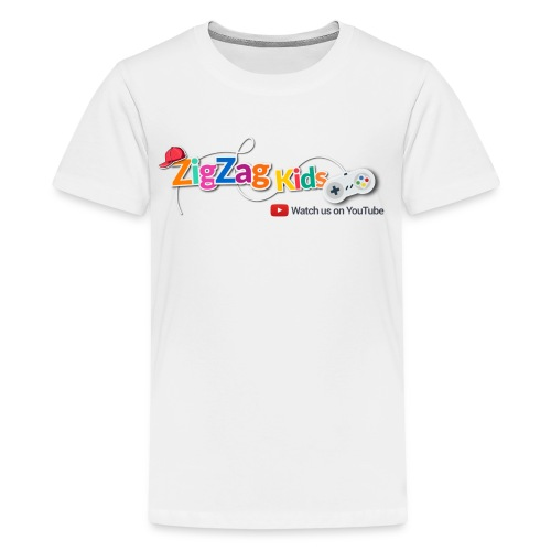 ZigZag Kids Logo Shop - Kids' Premium T-Shirt
