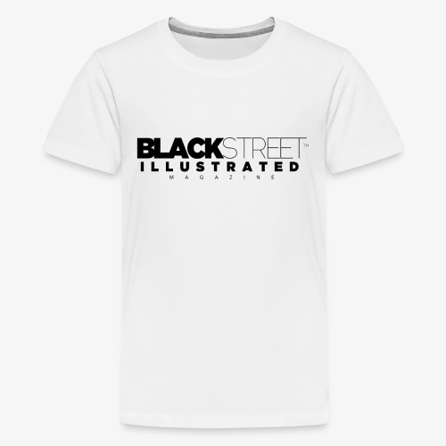 BlackStreet Illustrated - Black Print - Kids' Premium T-Shirt