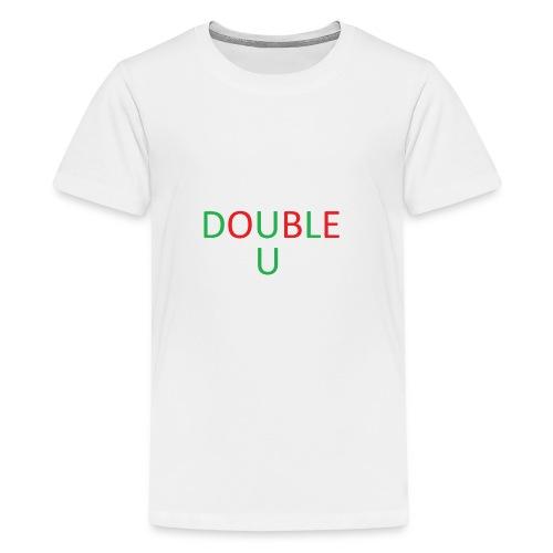 DOUBLE U MERCH - Kids' Premium T-Shirt