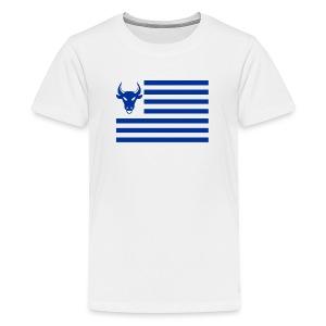 PivotBoss Flag Cobalt - Kids' Premium T-Shirt
