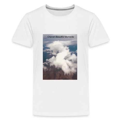 cherish beautiful moments of life - Kids' Premium T-Shirt