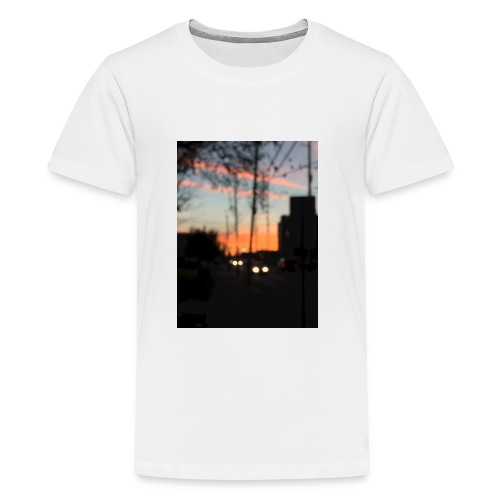 A blurry sunset - Kids' Premium T-Shirt