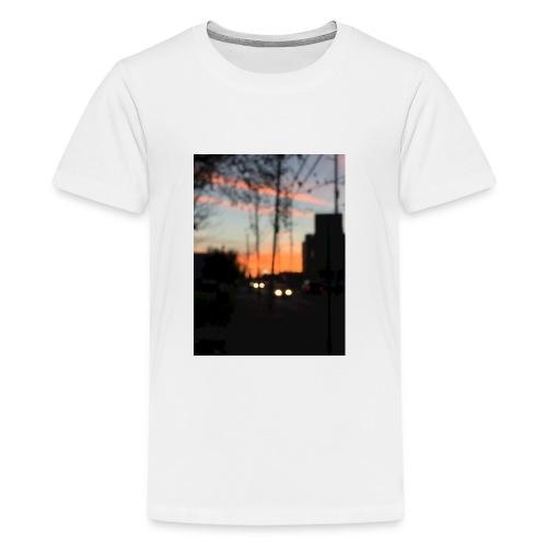 A blurry sunset - Kids' Premium T-Shirt