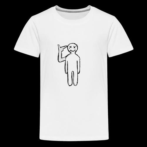 Scared Yet Clothing. No man - Kids' Premium T-Shirt