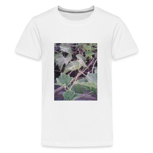 IMG 0170beauty of leaveq - Kids' Premium T-Shirt
